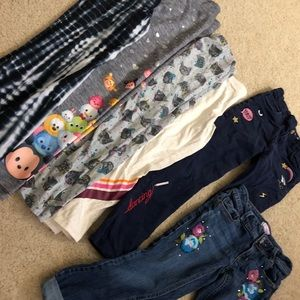 Pants and Leggings bundle sz 6-7-8